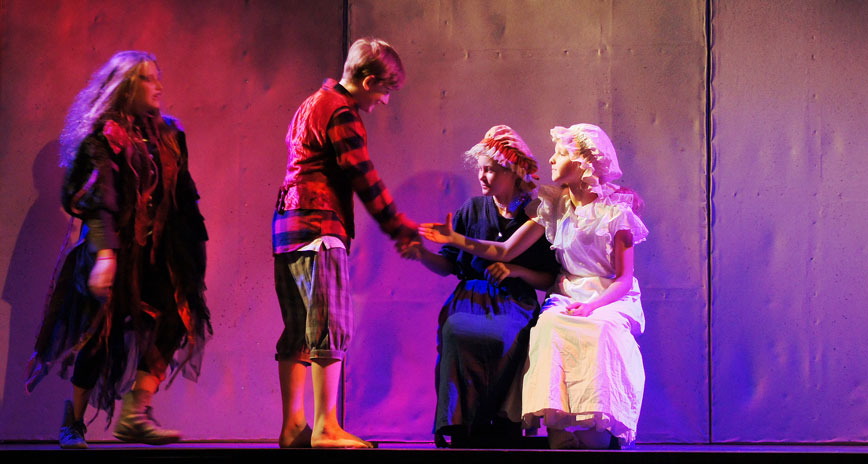 Theaterstücke für die Grundschule, Theaterszene