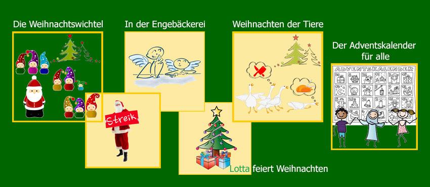 Bilder zu den Theaterstücke zu Weihnachten für Kinder